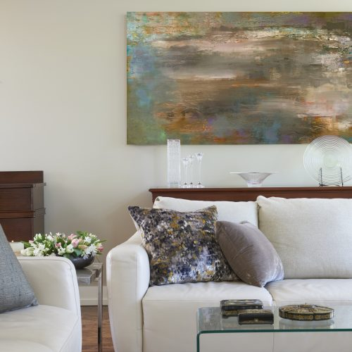 toronto mid-century family home - family room linda mazur design toronto designer - design build renovate decorate- living room