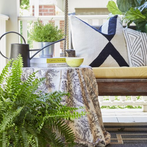 outdoor living - patio decor- veranda- curb appeal - linda mazur design toronto designer