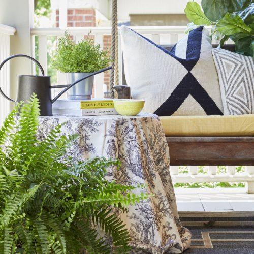 outdoor living - patio decor- veranda- curb appeal - linda mazur design toronto designer