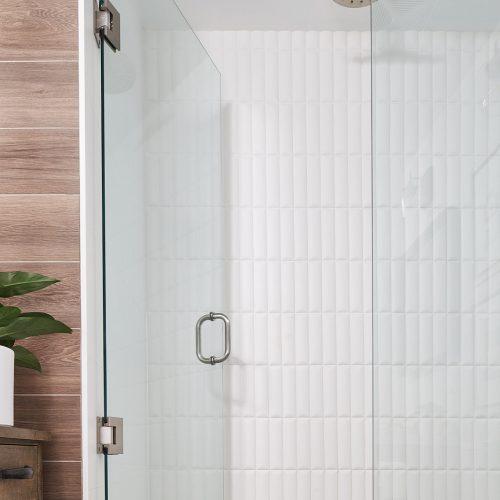 toronto condo bathroom renovation, toronto designer, rustic bathroom, bath tub, linda mazur design